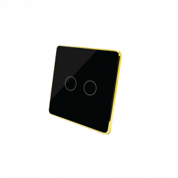 Two-Gang Zwave Light Switch
