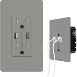 USB Outlets Receptacles